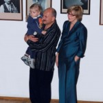 12 С женой Натальей и дочерью Полиной